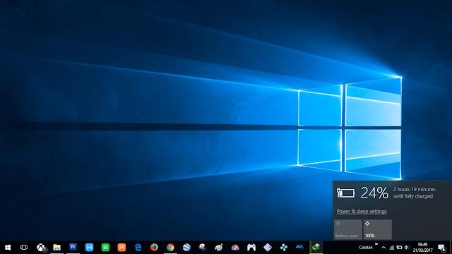 Windows 10 will reduce baterry peformance