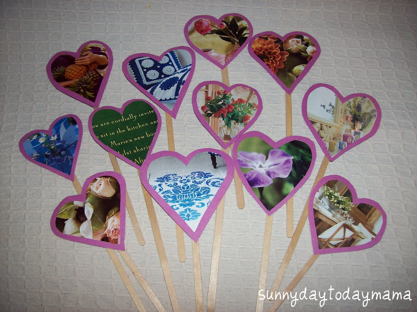 Sunnydaytodaymama Valentine S Day Crafts And A Heart For Our Babies
