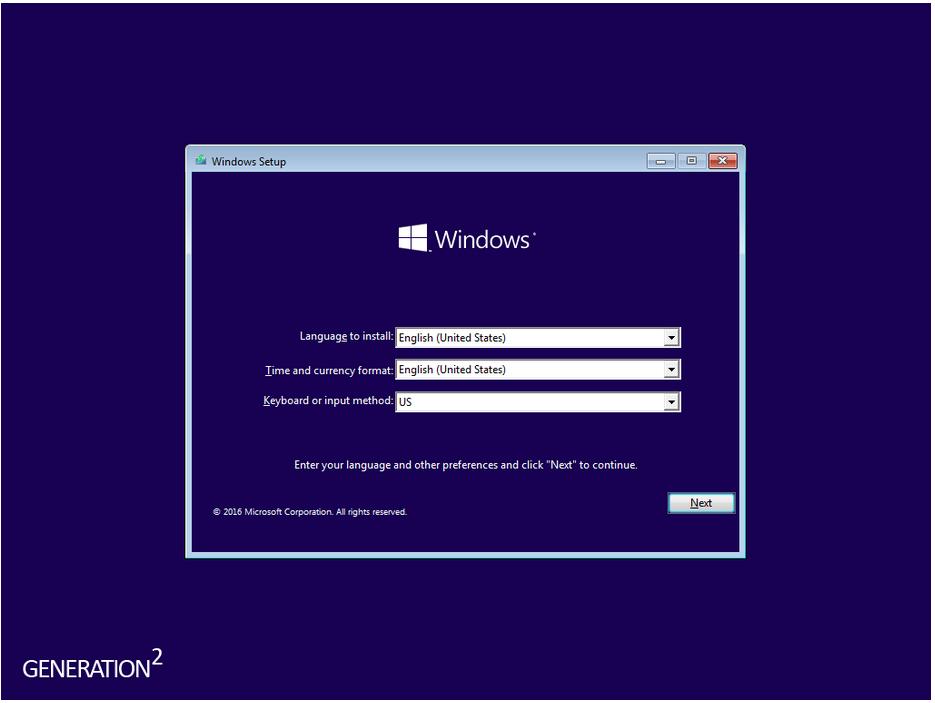 Windows 10 Pro-Core v1511 April 2016 - Generation2 (x64) | Windows 10