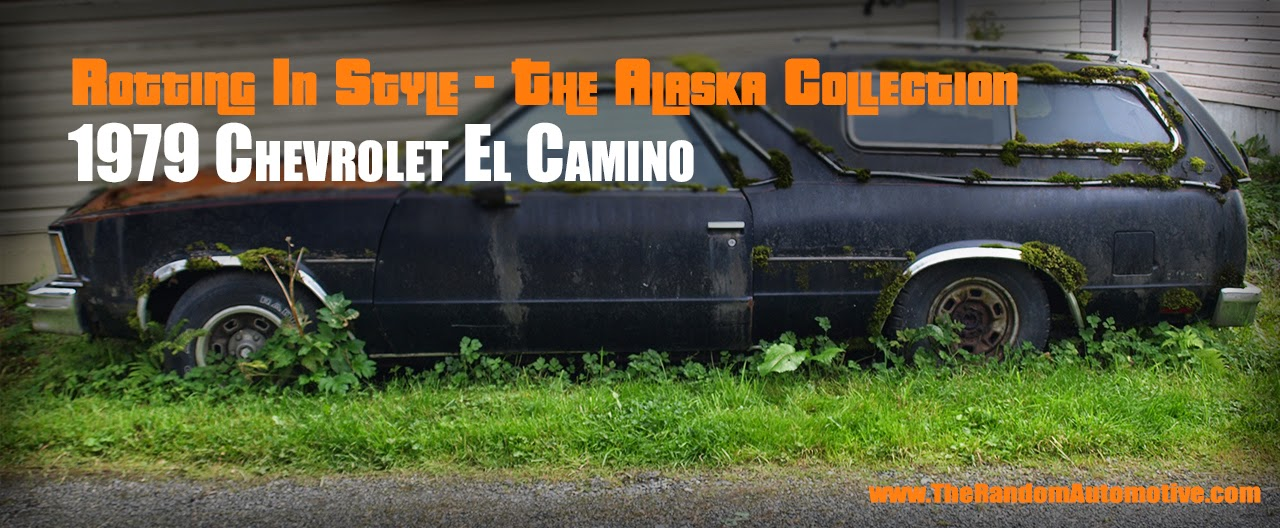 abandoned 1979 el camino chevy chevrolet sitka alaska rotting in style db productions dylan benson american muscle