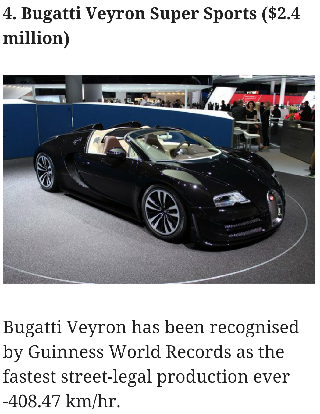 news at your convenience most expensive cars in the world 2016. Black Bedroom Furniture Sets. Home Design Ideas