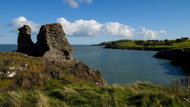 The Black Castle in County Wicklow