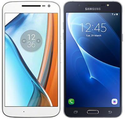 Motorola Moto G4 vs Samsung Galaxy J7 (2016)