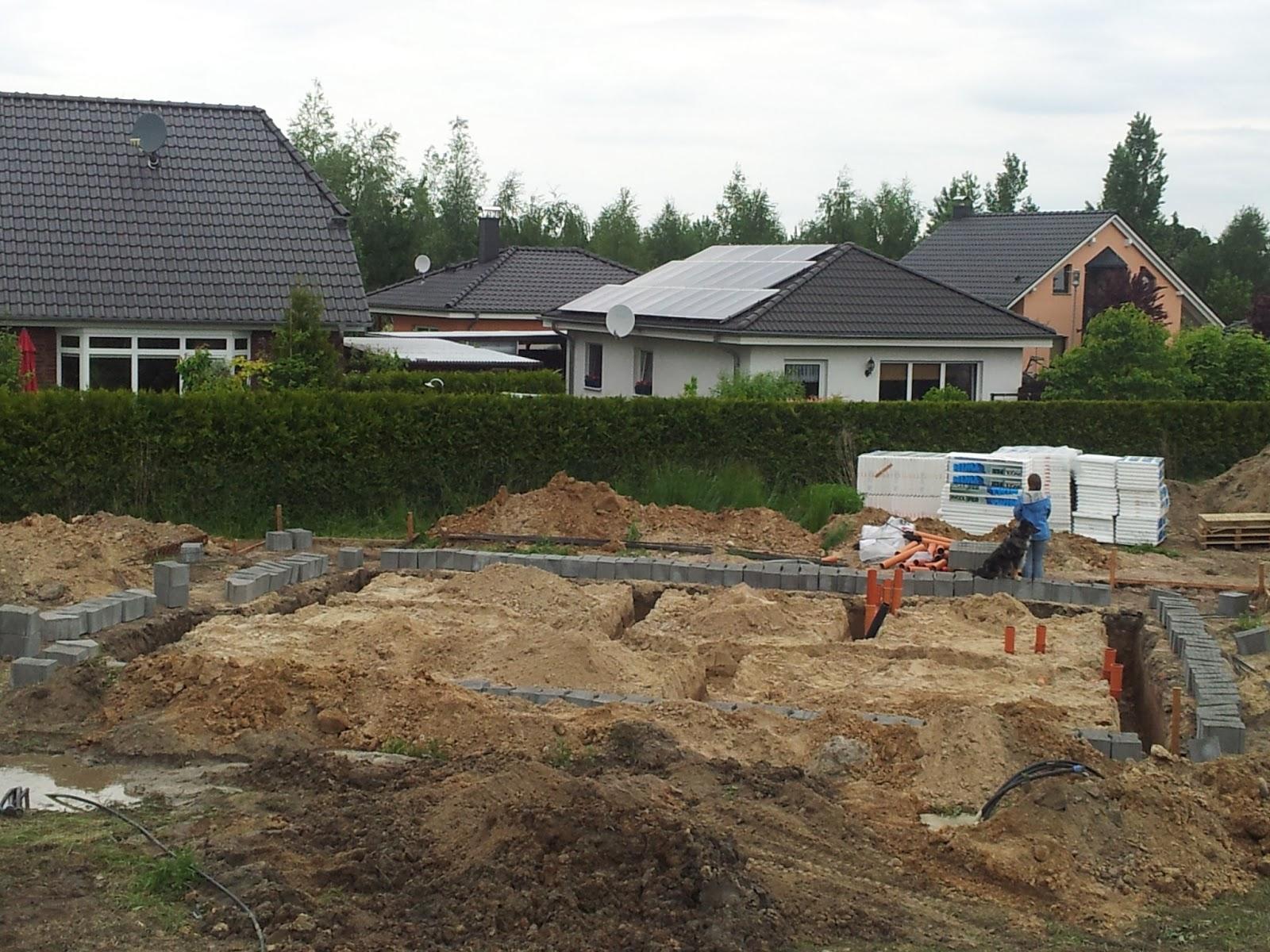 Bautagebuch - Unser Hausbau Mit City-Haus: 24.5. Das