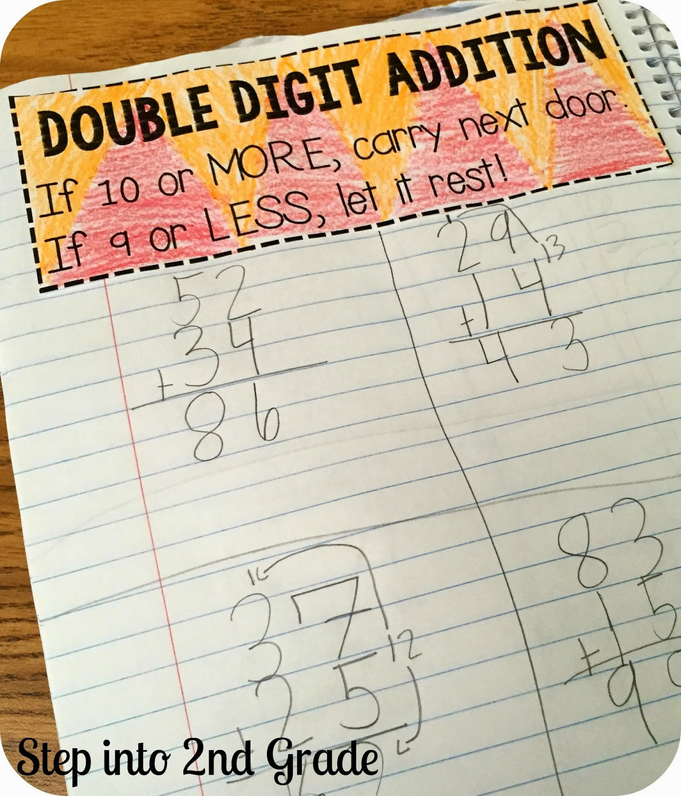 Step Into 2nd Grade With Mrs Lemons Regrouping