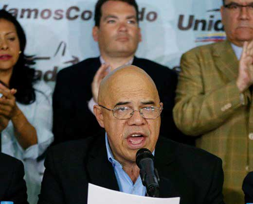 "MUD convoca la ""marcha a Caracas"" para el 1º de septiembre"