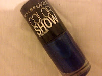 Maybelline Color Show - Ocean Blue