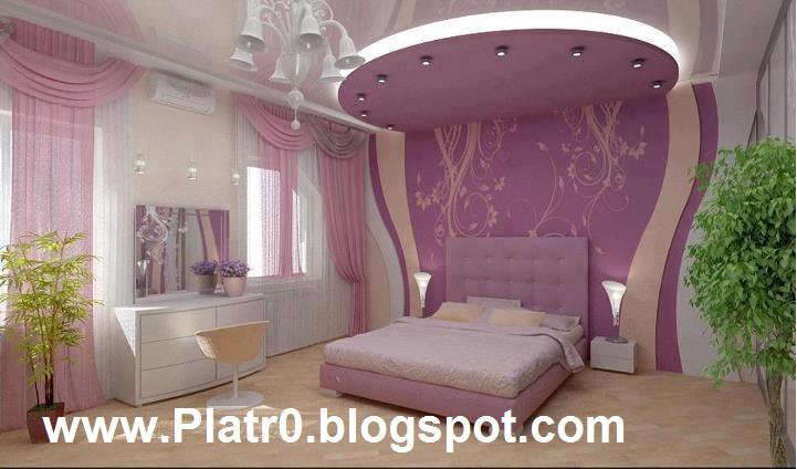 Chambre a Coucher Plafond 2016 - Décoration Platre Maroc - Faux ...