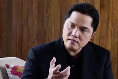 Erick Thohir: Jokowi Masih Lebih Unggul dari Prabowo