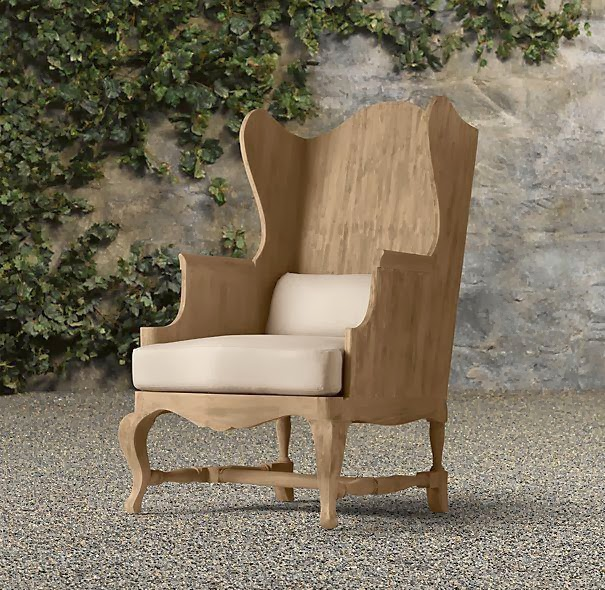 Chairs Furniture: Sabbe Interior Design [the Blog]: Wooden Wing Back Chairs