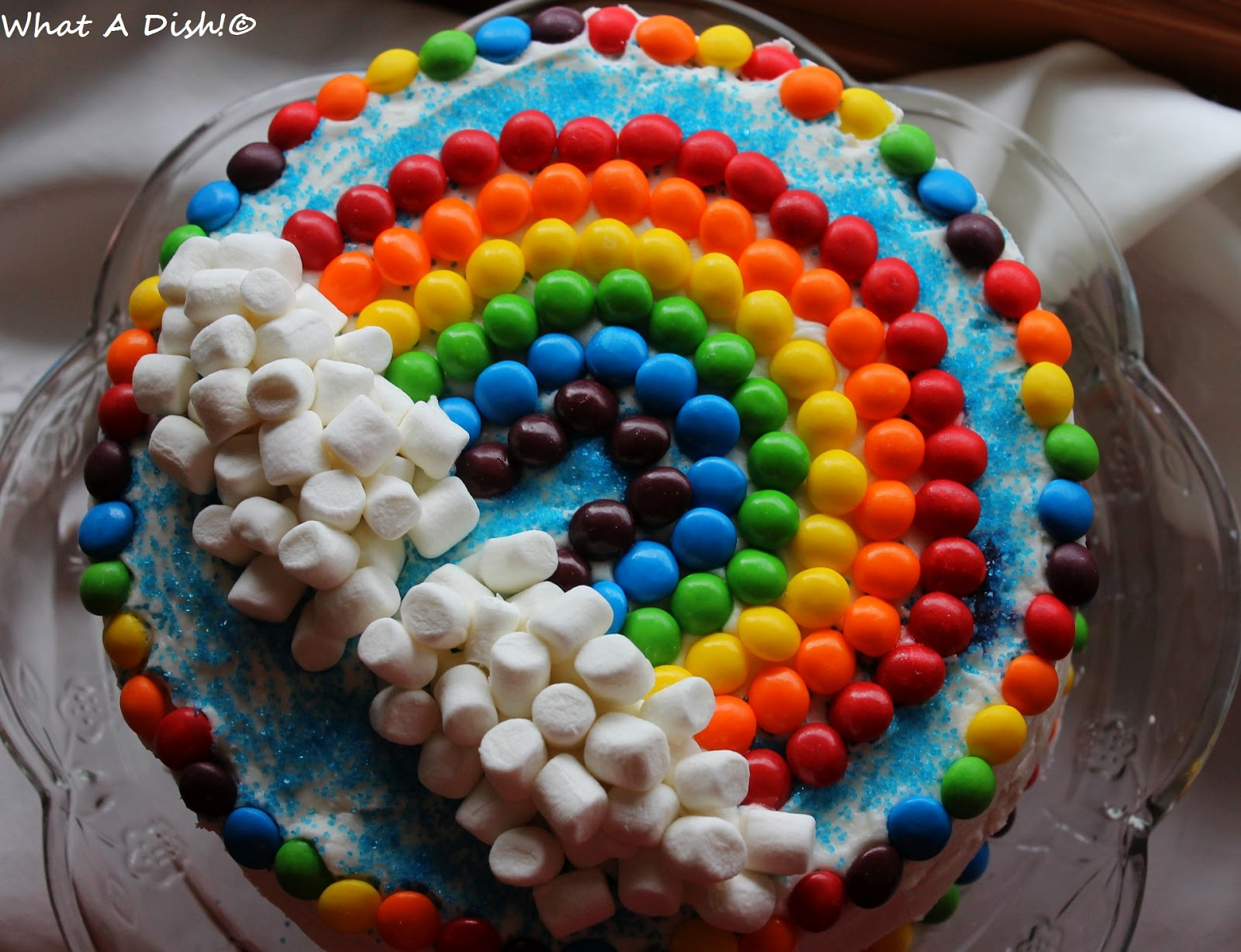Rainbow Birthday Cake My Little Boy Just Turned 5 Years Old