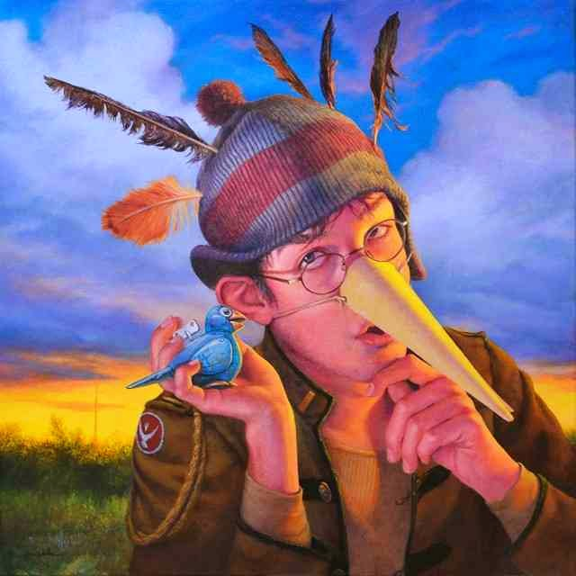 Я рисую рассказы. John W Walker