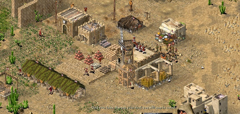 Stronghold Crusader Level 80 : Benteng Pertahanan Terakhir (NO Cheat)