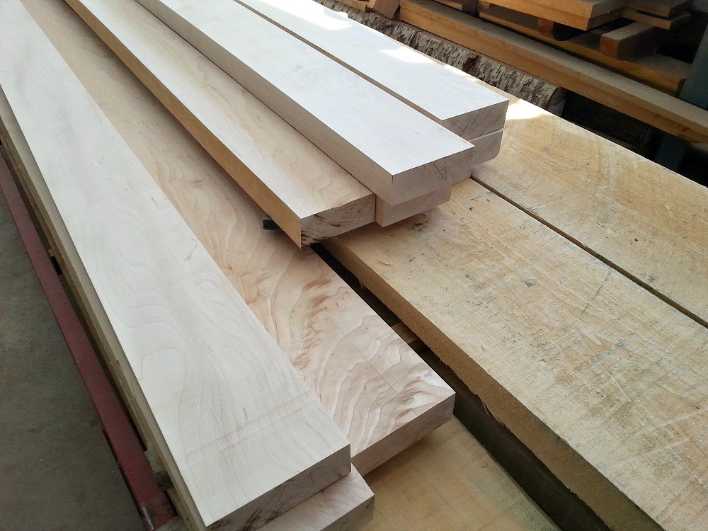 Making DIY Wood Plank Countertops