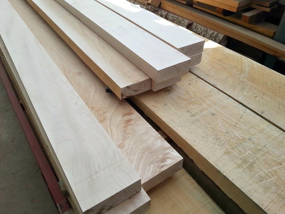 Making DIY Wood Plank Countertops