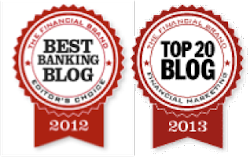 Named Top Five Financial Marketing Blog 2012-2013