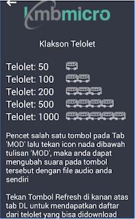Download Aplikasi Klakson Telolet V4.5 MOD Apk Terbaru