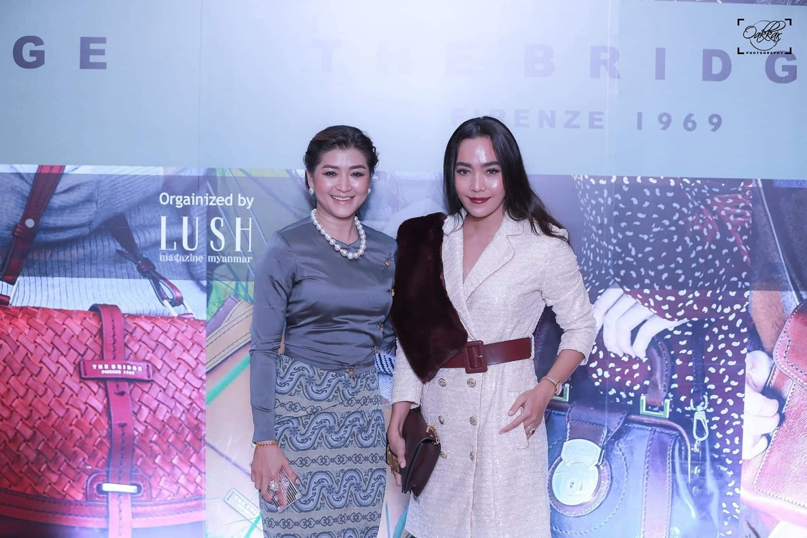 Myanmar Celebrity-Moe Hay Ko - Attending The Bridge Bag Collection Launching Event
