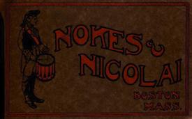 Nokes & Nicolai Catalog Cover - ca. 1918