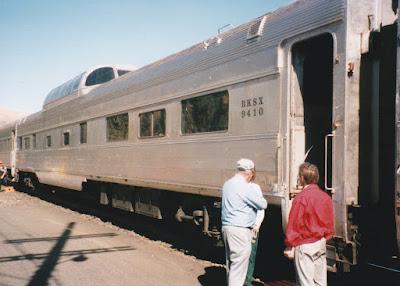 BKSX Dome Coach #9410 in Wishram, Washington, on June 7, 1997