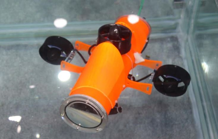 EyeROV an underwater drone