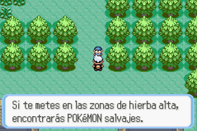 Pokémon Zafiro - Español - Captura 4
