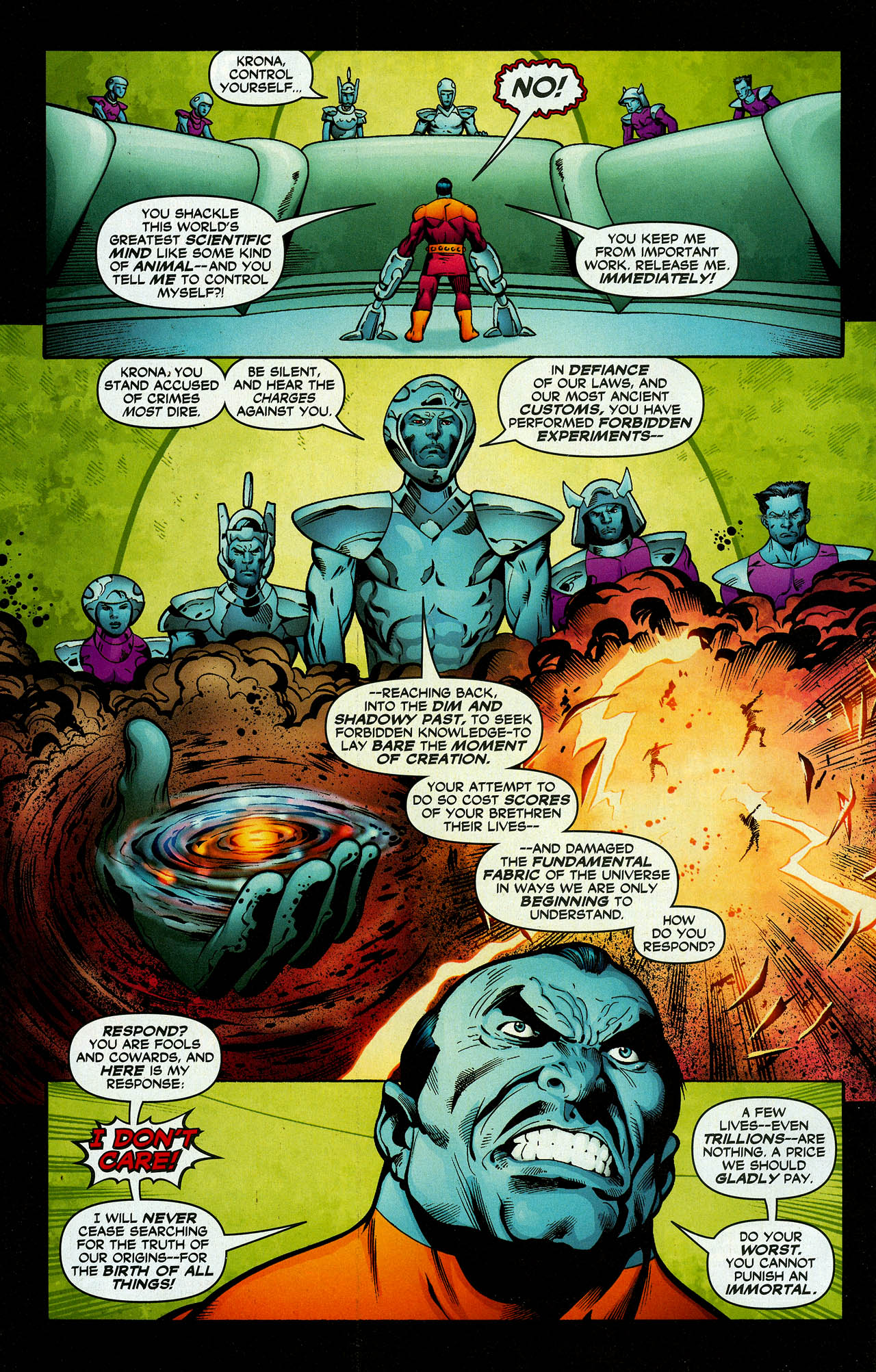 Read online Trinity (2008) comic -  Issue #7 - 24