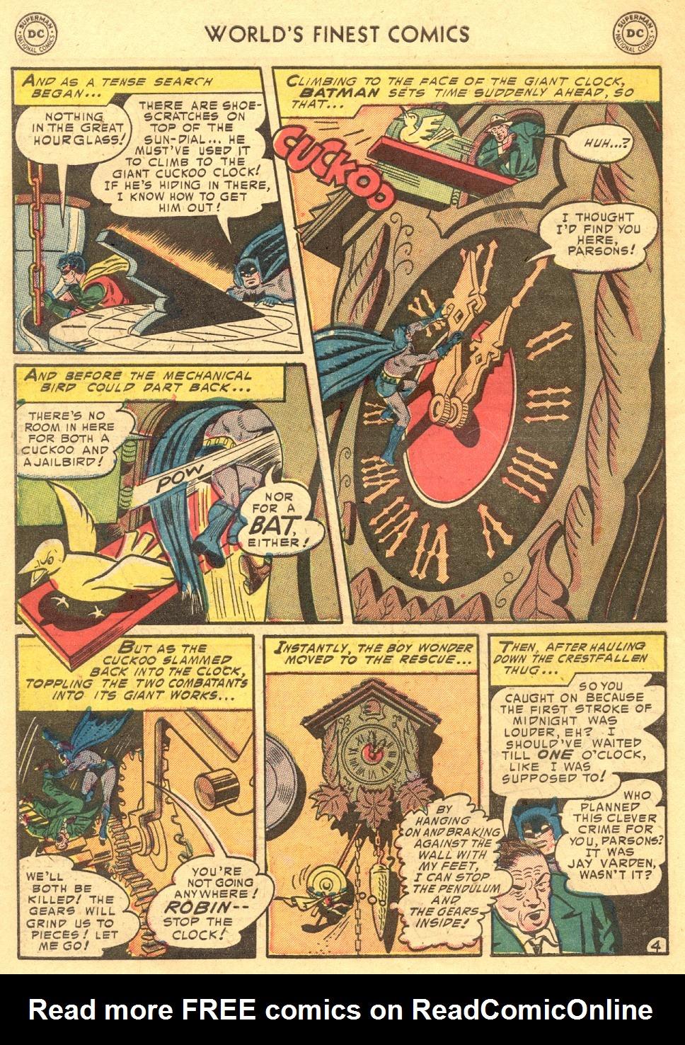 Read online World's Finest Comics comic -  Issue #70 - 58