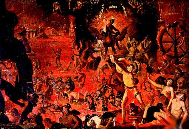 Vivencias de migraci n el jardin de las delicias el juicio final y el infierno - Jardin infierno ...