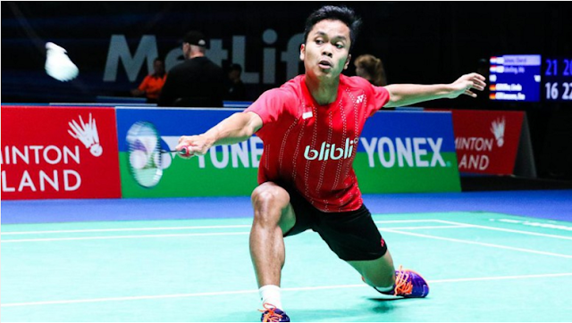 Indonesia Unggul Atas Denmark 2-0, Anthony Mantap!