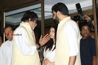 Actress Aishwarya Rai Father Prayer Meet Set 1  0061.JPG