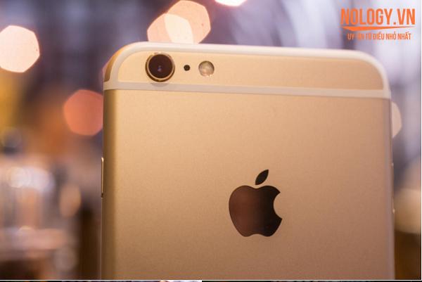 Mặt sau của chiếc iphone 6s plus