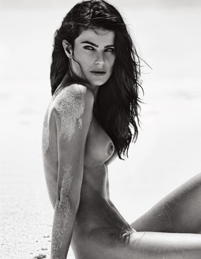 Isabeli Fontana naked photo shoot lui magazine