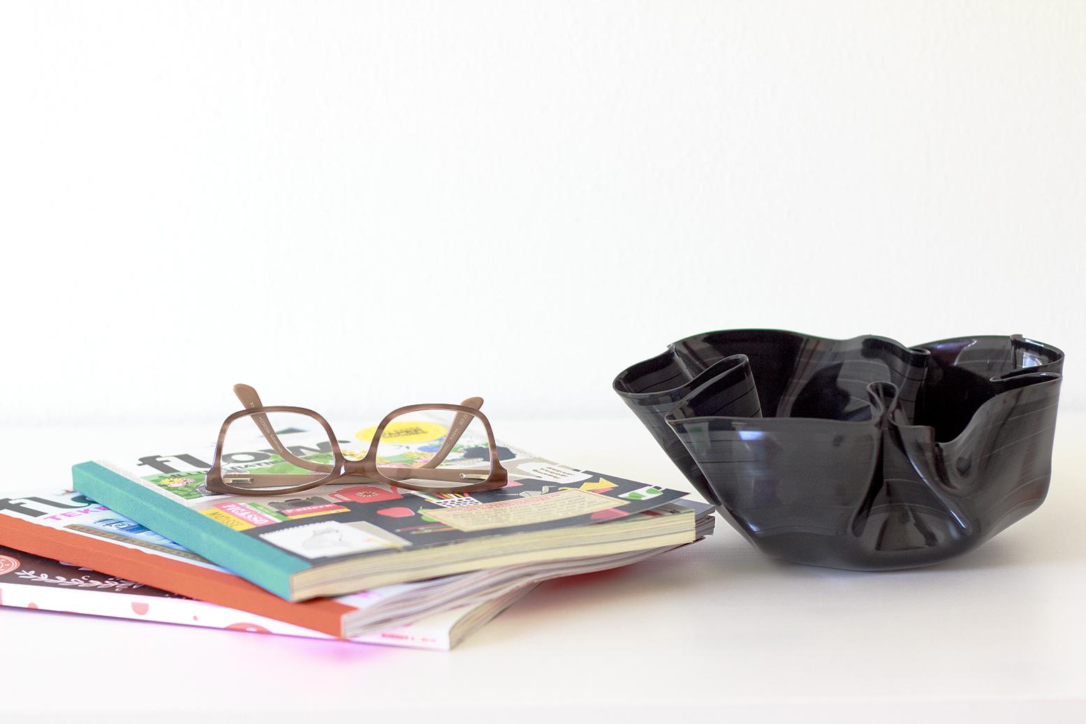 vintage vinyl bowl