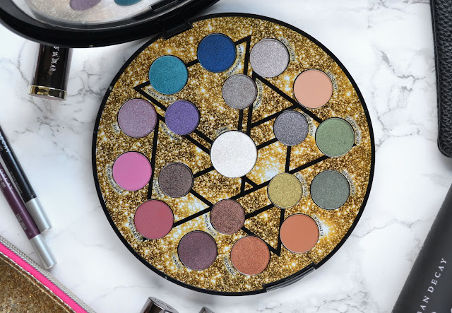 Urban Decay Elements Eyeshadow Palette with Makeup Look and Swatches