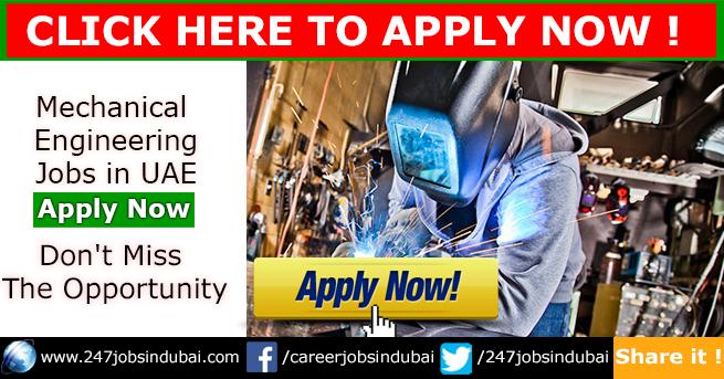 Recruitment for Mechanical Engineering Jobs Vacancies in UAE