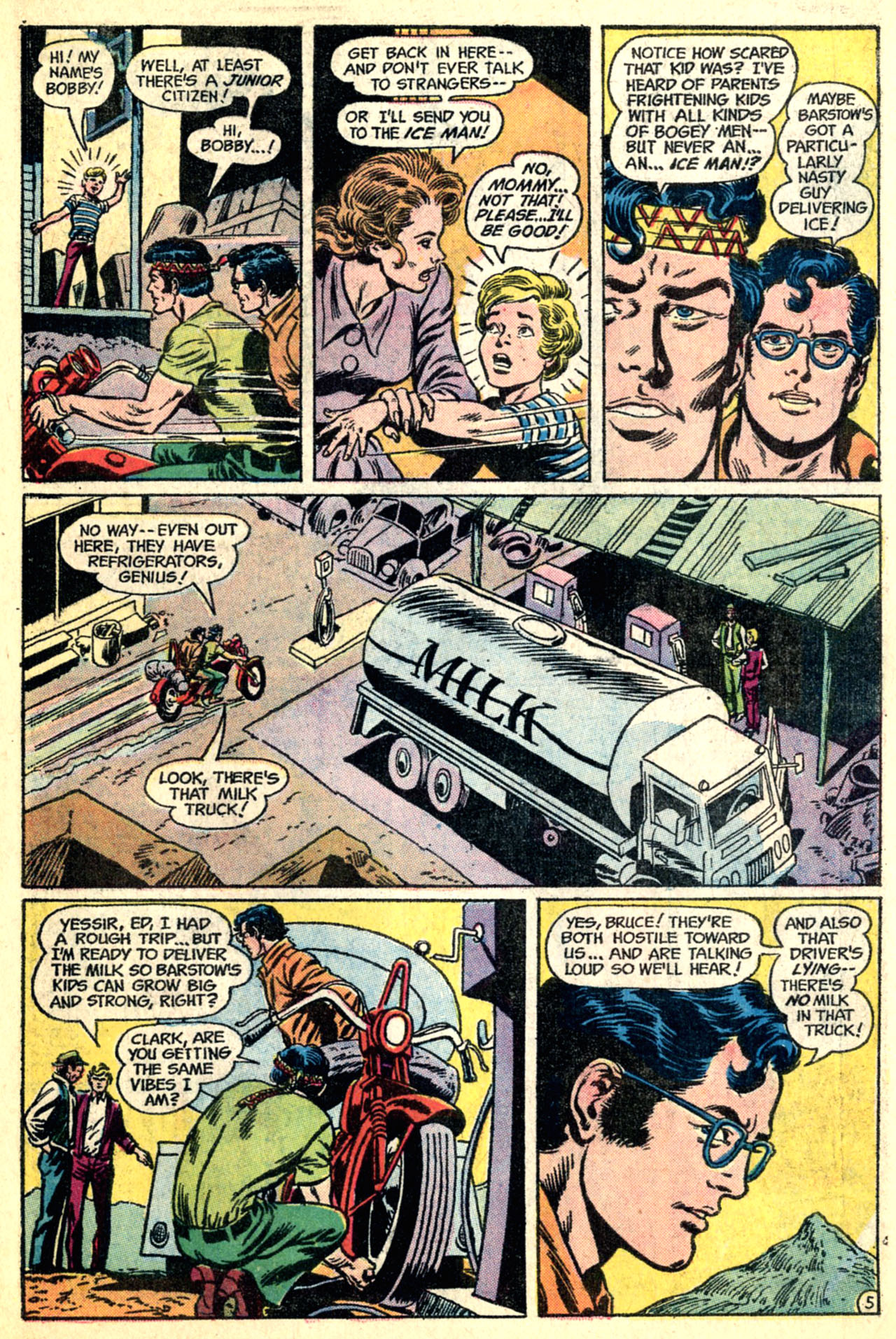 Read online World's Finest Comics comic -  Issue #216 - 7