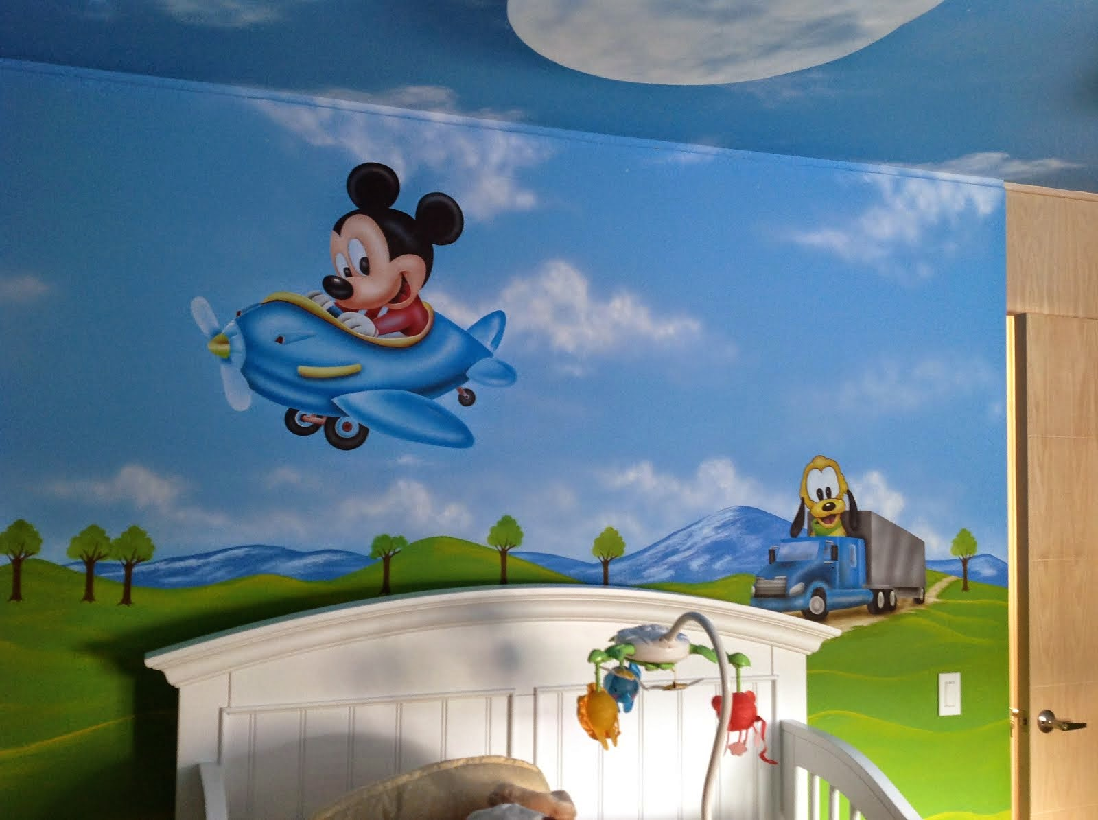 DECORACION CON MURALES DISNEY