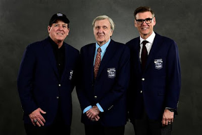 Ron Hornaday, Ken Squier and Ray Evernham - #NASCAR Hall of Fame