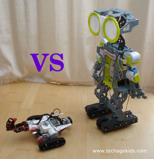 LEGO Mindstorms EV3 vs Meccanoid - How to Choose Your Robot | Tech