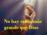 El poder de Dios esta sobre todo problema.