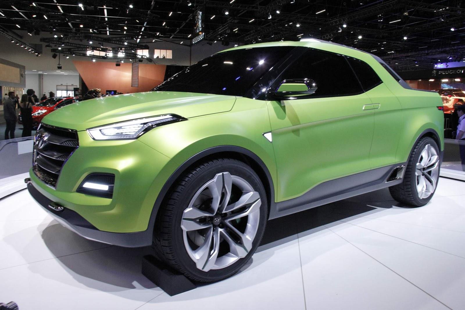 hyundai creta sport truck conceito mira a fiat toro car blog br. Black Bedroom Furniture Sets. Home Design Ideas