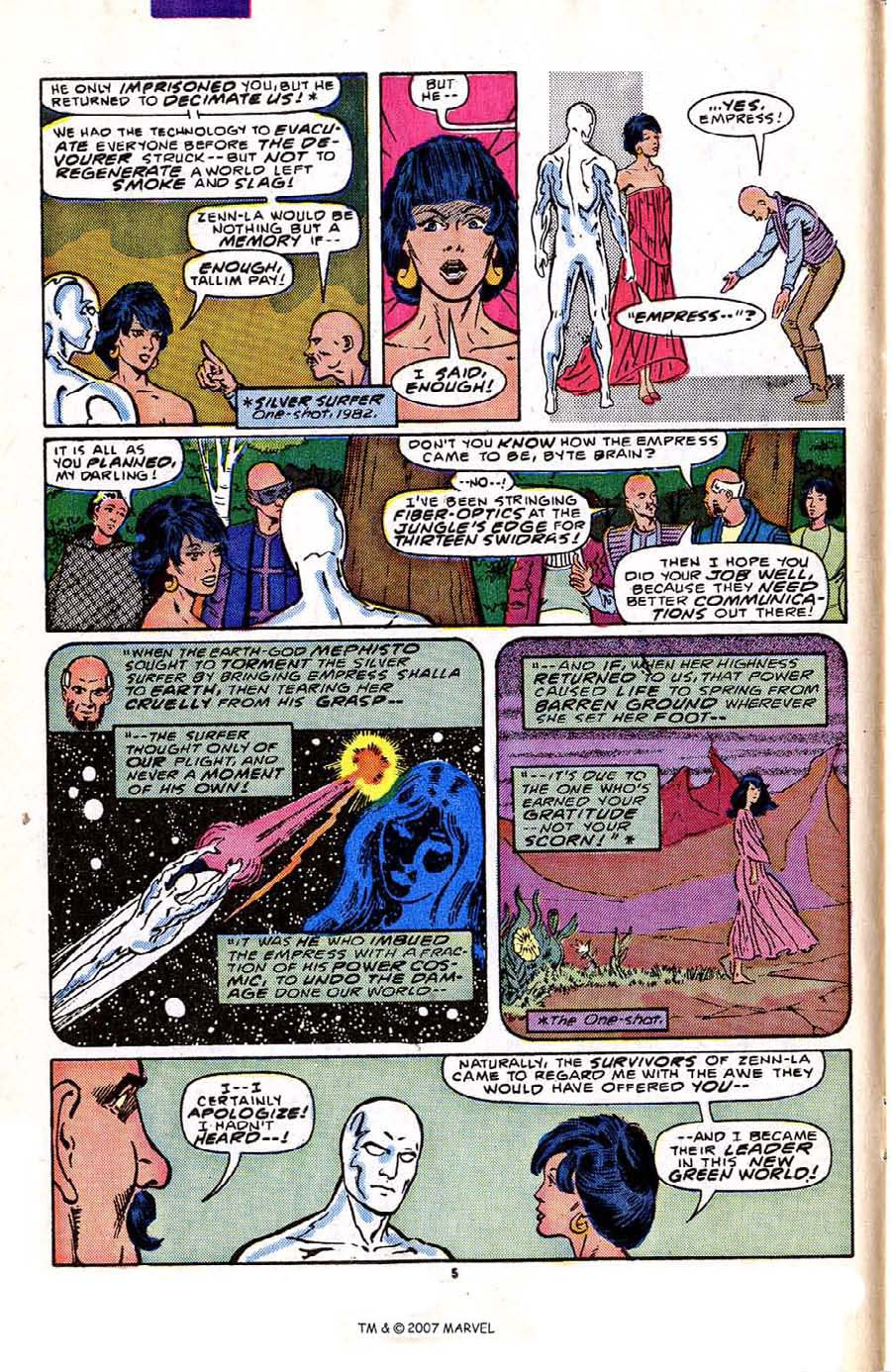 Read online Silver Surfer (1987) comic -  Issue #2 - 8