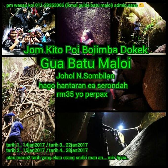Guide Gua Batu Maloi