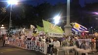 ecoapicultores Marcha por la Vida y los Bienes Naturales sin glifosato