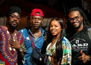: Stonebwoy spotted with Beenie Man, Sean Paul, Chi Ching Ching, Khalia & many more in Kingston, Jamaica : Photos || www.ayooghana.com
