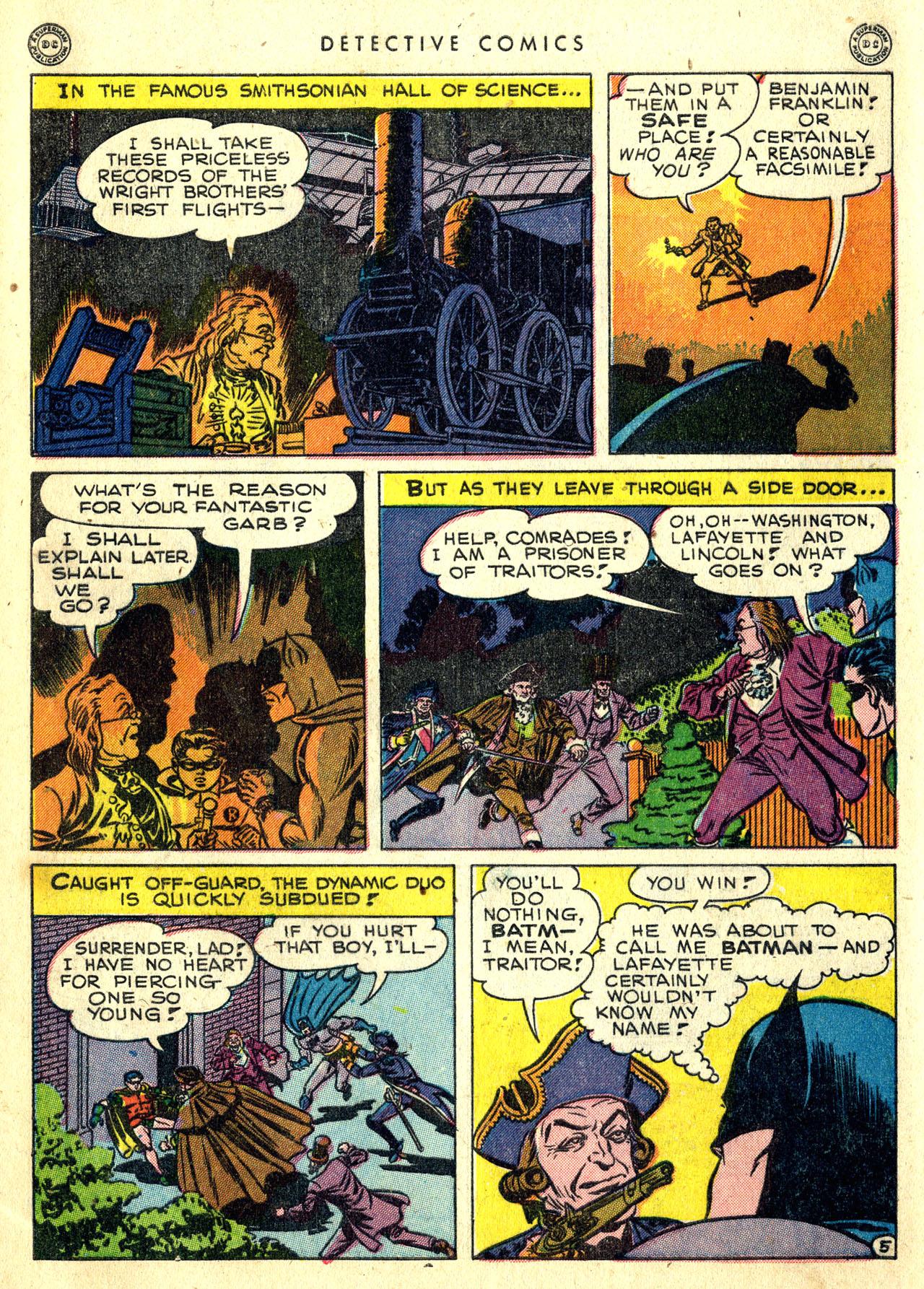 Read online Detective Comics (1937) comic -  Issue #119 - 7