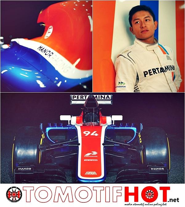 MRT05 Resmi Jadi Mobil Balap Pertama Rio Haryanto di F1