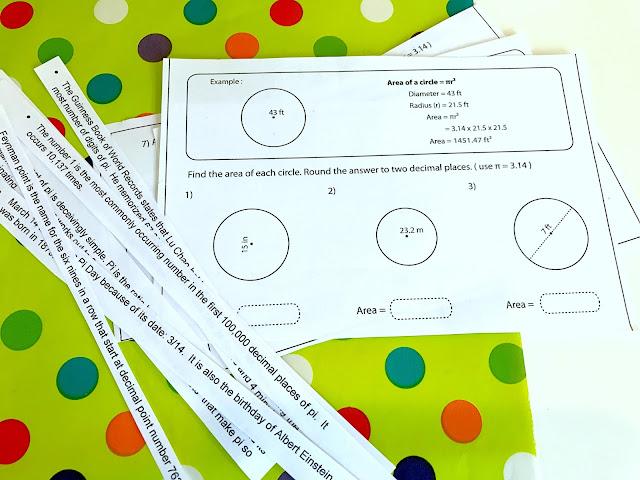 Pi Math and party fun @michellepaigeblogs.com