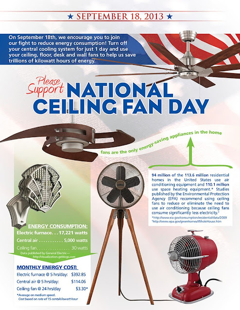 National Ceiling Fan Day by Fanimation